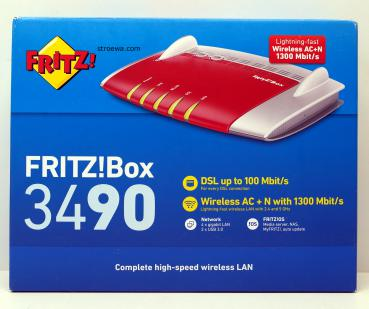 AVM FRITZ!Box 3490 International WLAN- Router