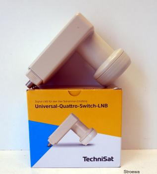 TechniSat Universal-Quattro-Switch-LNB mit 40mm