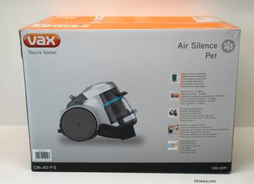 Vax C86-AS-P-E Air Silence Pet Staubsauger EEK:A