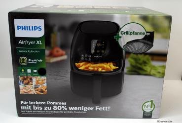 Philips HD9248/90 Avance Collection Airfryer XL Fritteuse schwarz
