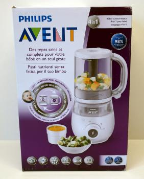 Philips Avent SCF883/01 4-in-1 Babynahrungszubereiter Multikocher