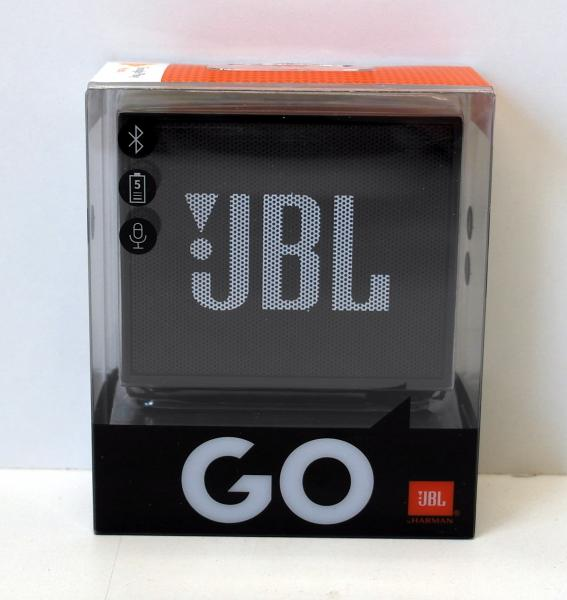 JBL Go Ultra Wireless Bluetooth Lautsprecher Schwarz